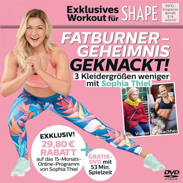 SOPHIA THIEL Fitness-DVD